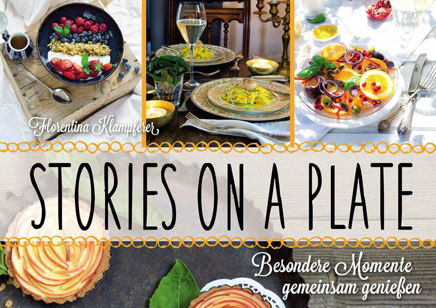 Buchcover Stories on a plate